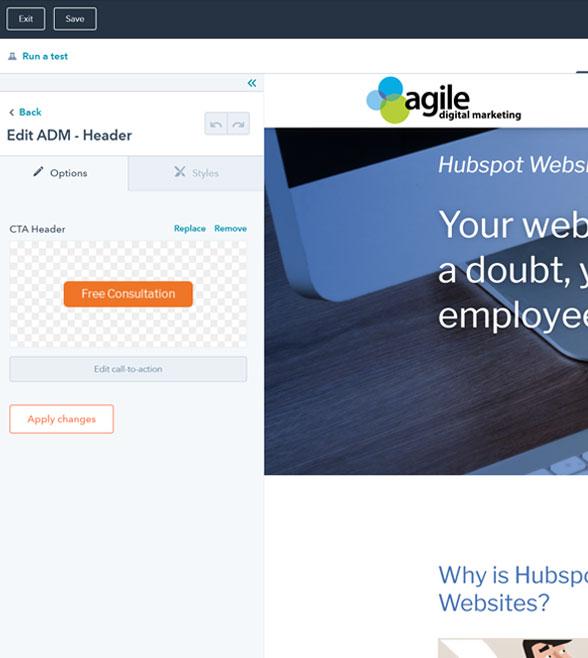 Hubspot Website development Services